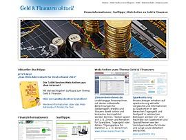 Geld-und-Finanzen-aktuell.de - Portal rund um Finanzen und Geld