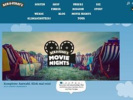 Ben & Jerry's Movie Night - Gratis Open Air Kino-Event mit kostenlosem Eis