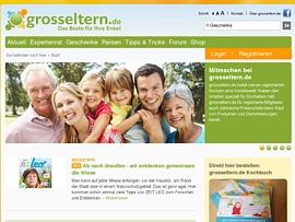 Grosseltern.de - Glückliche Enkel und Kinder dank glücklicher Großeltern
