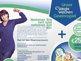 Weight Watchers Guthaben gewinnen