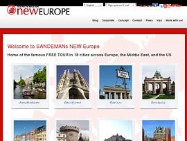 Sandeman's NewEurope bietet Free Tours -  Gratis Stadtführungen durch die schönsten Städte