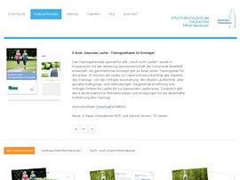 """Gratis E-Book - """"Gesundes Laufen. Trainingleitfaden für Einsteiger"""" zum Download"""