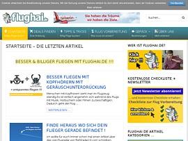 Flughai - Tipps und Tricks rund ums Billig-Fliegen