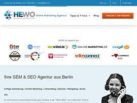 Hewo bietet SEO Checkliste für Onsite- & Onpage-Optimierung