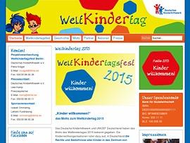 """Weltkindertag 2015 """"Kinder willkommen!"""" - Bundesweite Aktionen und Veranstaltungen"""