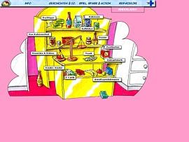 Robinson-im-Netz - Bunter Kinderladen mit Comics, Aufklebern und mehr