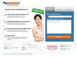 MyHammer - Auktionsportal für Handwerk und Dienstleistung