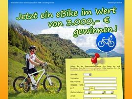 eBike: Fahrrad fahren mit Rückenwind