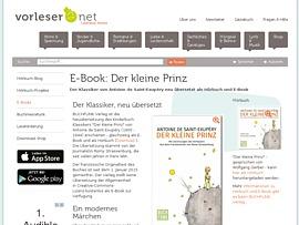 """E-Book """"Der kleine Prinz"""" kostenlos downloaden"""