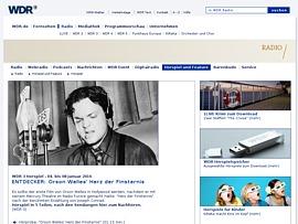 WDR - Erstklassige Hörspiele nach Ausstrahlung zum Gratis-Download