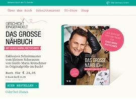 """Gratis Schnittmuster aus """"Geschickt eingefädelt – Wer näht am besten?"""" von Mode-Designer Guido Maria Kretschmer"""