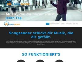 Songsender - Neue Musik und Musiker entdecken