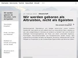 Altruismus  -  Der Mensch zwischen Altruismus und Egoismus in unserer Gesellschaft (German Edition)