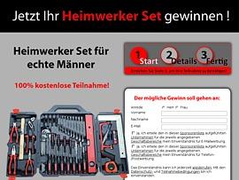 Heimwerker-Set: Von Adapter bis Zange alles zu gewinnen