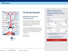 retten! Lernposter kostenlos beim Thieme Verlag bestellen