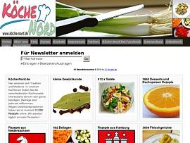 Köche-Nord.de - Eine kostenlose Kochseite mit Kochforum um 30.000 kostenlosen Rezepten