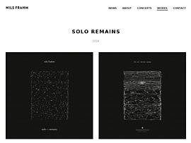 """Nils Frahm verschenkt zum Piano Day 2016 Gratis-Album """"Solo - Remains"""""""
