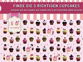 Kostenloser Cupcake für süße Momente
