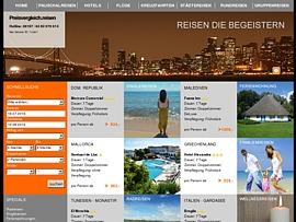 Reise Preisvergleich für deinen Urlaub, Hotel, Mietwagen...