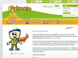 Mit Primolo.de die eigene Webseite bauen