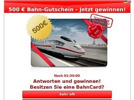 Reise Gutschein der Deutschen Bahn gewinnen