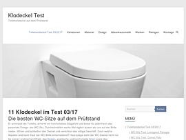 Transparenz & Klarheit: Klodeckel-test.de