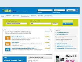 11 88 0 bietet ab sofort eine kostenlose Webauskunft