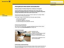 Post: Ab sofort können Verbraucher Briefe, Päckchen und Pakete online frankieren