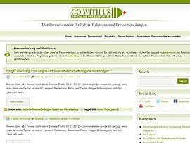Pressemitteilungen und Nachrichten für Journalisten und Verbraucher kostenlos veröffentlichen