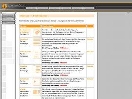 Zahlreiche Tools für die eigenen Homepage