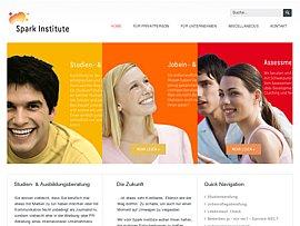 Spark Institute: Persönlichkeitstest - Ergebnis per Email