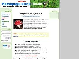 Kostenlos Homepage erstellen