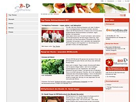 Preiswerte Bio-Küche: Kostenlose Rezepte