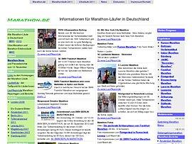 Marathon-Läufe in Deutschland 2006