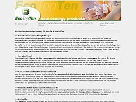 Stromkosten: Ecotopten.de zeigt Euch die Top-Ten der sparsamsten Herde und Backöfen