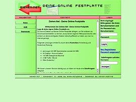 Ziehen.net: Gratis zur eigenen Online-Festplatte
