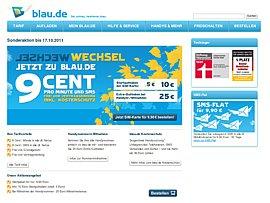 Blau telefonieren und 20 Euro Guthaben sichern
