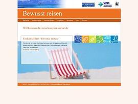 Verbraucher Initiative e.V.: Einkaufsführer Bewusst reisen