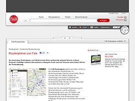 Falk.de - Kostenloser Routenplaner