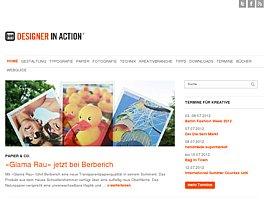Webseite für Designer und kreative Köpfe