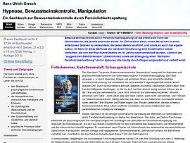 Pschologie: Kostenloses Ebook zum Thema Missbrauch der Hypnose