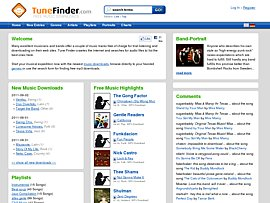 Kostenlose legale Musikdownloads