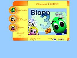 Blopp: Lernsoftware mit spielerischem Charakter