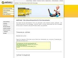 JobTime24-JobFinder für Eure Homepage