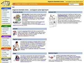Englische Grammatik online lernen