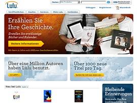 Lulu.com - Gratis publizieren dank Print-on-Demand-Technik