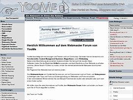 Webmaster: Software und nette Community