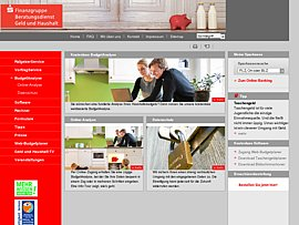 BudgetAnalyse der Sparkassen-Finanzgruppe für Privathaushalte