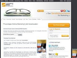 "Kostenloses Ebook: ""Leitfaden Online Marketing"""