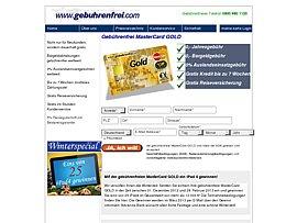 Gebührenfreie Mastercard Gold von der Advanzia Bank